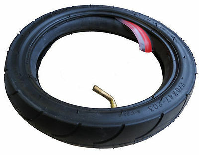 Jane Slalom ProTyre and Tube with Puncture Protection  Size 270 x 47-203