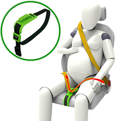 Bump Belt Maternity Car Seat Belt Adjuster Comfort And Safety Pregnant Zuwit New