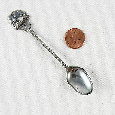 Souvenir Spoon Elephant India Silver 16096