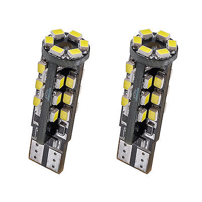 W5W 501 194 T10 30 LED Parking Side Turn Stop Signals Interior Light Wedge Bulbs