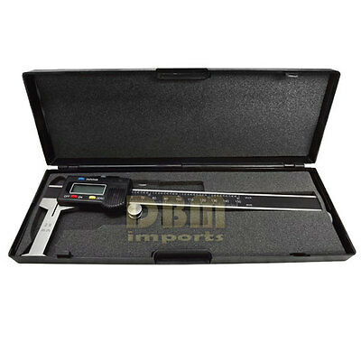 "Digital 6"" Inside Groove Vernier Caliper Ruler Micrometer Gauge Indicator"