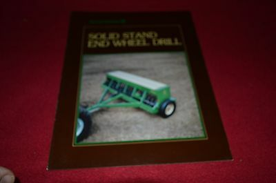 Great Plains Solid Stand End Wheel Drill Dealers Brochure BWPA