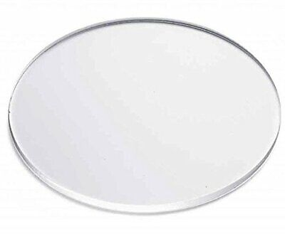 """Clear Acrylic Disc's 1/8"""" Thick 1"""" diameter (Pack of 50)"""