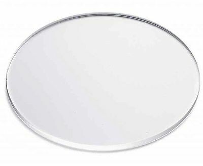"""Clear Acrylic Disc's 1/8"""" Thick 2-3/8"""" diameter (Pack of 10)"""