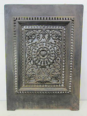 Antique Cast Iron Fireplace Summer Cover for Decor Use