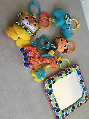 Euc Infantino Gym Replacement Toys Only