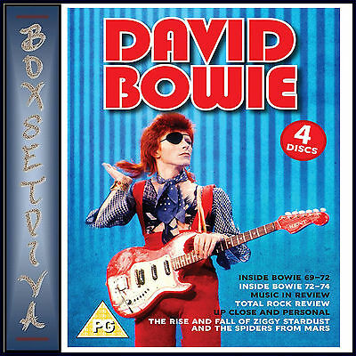 David Bowie - Collection Of Six Documentaries    *** Brand New Dvd Boxset***