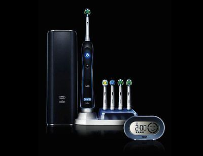 Oral B 7000 Black Electric Toothbrush With Bluetooth! Brand New