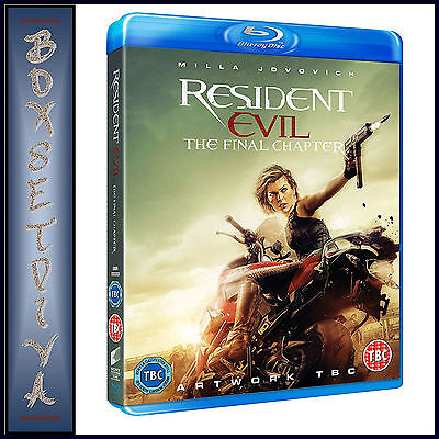 Resident Evil - The Final Chapter  **brand New Blu-Ray***