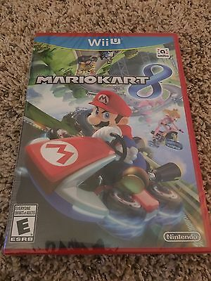 Mario Kart 8 for Nintendo Wii U. Factory Sealed. BRAND NEW.  Unopened