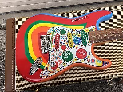 George Harrison Rocky Tribute Replica Fender Stratocaster With Tweed Case