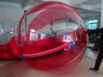 New High quality 2M Water Walking 1mm PVC Ball Roll Ball Inflatable Zorb ball