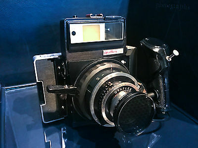 GRAFLEX XL CAMERA With NORITA NORITAR 100mm F/3.5 Lens COPAL-No.0 from Japan