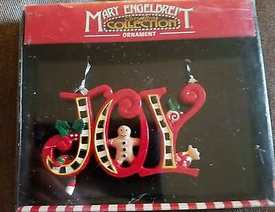 Kurt Adler Mary Engelbreit JOY Ornament