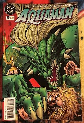 DC AQUAMAN (1994 Series) 15 FN ***$3.98 UNLIMITED SHIPPING***