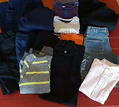 Boys Size 8 Clothing Lot ~ Athletic Jeans Sweaters Long Sleeve Shorts Tees ~Vguc