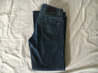 Diesel Denim Jeans, Size 33W 28L Made In Italy