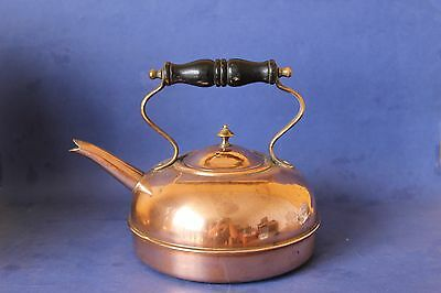 Antique Copper tin lined kettle.