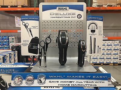 Wahl Deluxe Haircutting Hair Clippers Kit + Trimmer - BRAND NEW - 23 Pieces