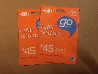 AT&T GoPhone $90 Refill