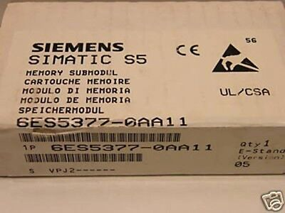 Siemens SIMATIC S5 6ES5377-0AA11 6ES5 377-0AA11 E-Stand: 05 -sealed-