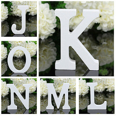DIY Wooden Name Plaque Word Letters Wall Art Craft Design Wedding Party Decor