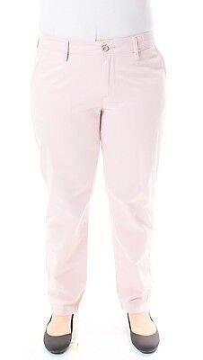 LEVI'S Womens New 1019 Pink Straight Leg Pants 29 WAIST B+B