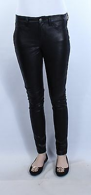 TINSEL TOWN $30 New Womens Black Shinny Skinny Pants 3 B+B
