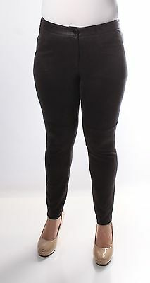 $70 BAR III New Womens 1379 Black Skinny Pants L B+B