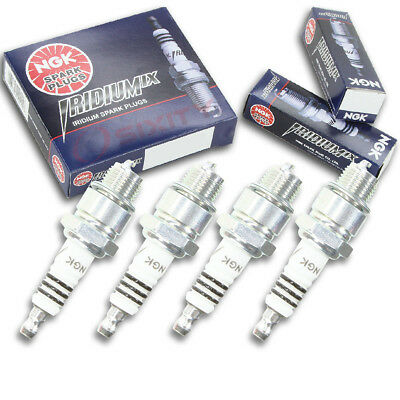 4pcs 2002 Yamaha LX2000 NGK Iridium IX Spark Plugs 1200 cc Kit Set Engine jw