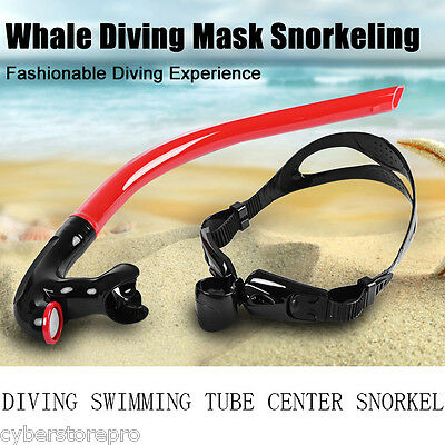 Whale Swimming Tube Center Snorkel for Diving