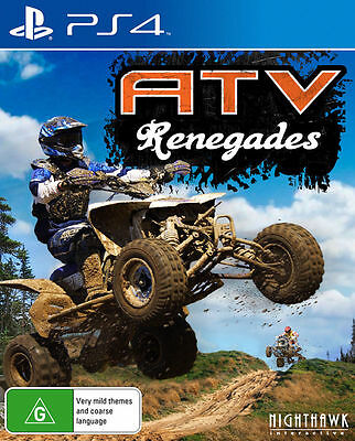 ATV Renegades PS4 Playstation 4 Game Brand New In Stock From Brisbane