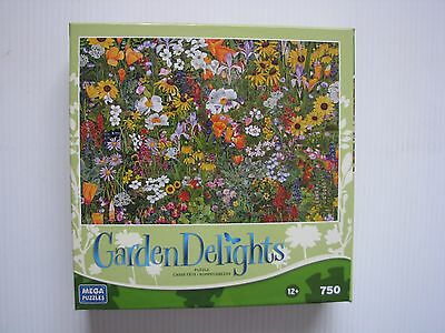 Jigsaw Puzzle 750pce - NEW - Wildflower Tapestry.