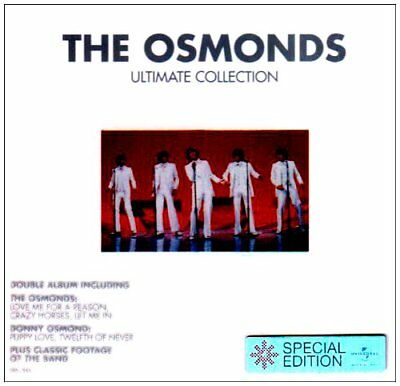 The Osmonds, Donny Osmond - Ultimate Collection Enhanced (CD)