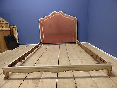 ANTIQUE FRENCH DOUBLE BED - g115