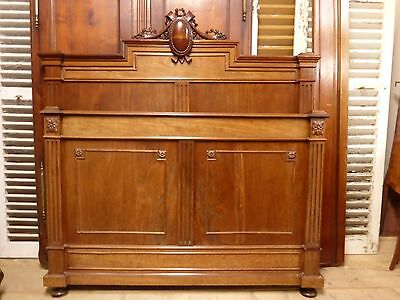 ANTIQUE FRENCH DOUBLE BED - ha92
