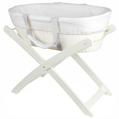 Bebecare Moses Basket Stand - White - NEW
