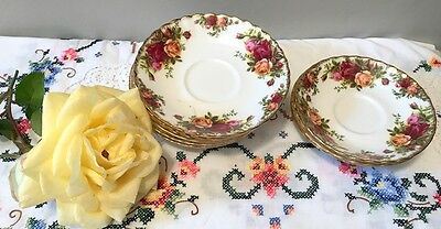 Royal Albert Old Country Roses saucers for replacement
