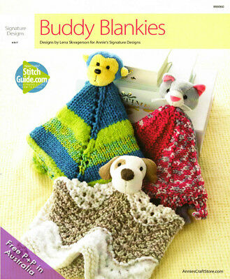 NEW Buddy Blankies by Lena Skvagerson from Annie's Signature Designs
