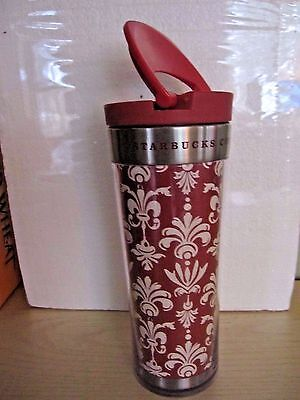 "Starbucks Travel Mug Tumbler LG 8""tall"
