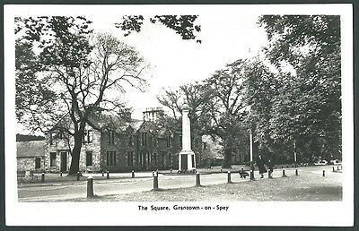 Grantown On Spey Moray The Square c1950s Mackay Real Photo Postcard