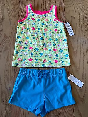 NWT WONDER KIDS  Toddler/Girls Outfit,  Sleeveless Top & Shorts  Size 4t