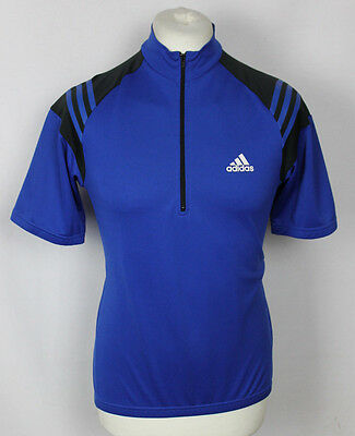VINTAGE ADIDAS CYCLING JERSEY TOP MENS SIZE SMALL 6 ORIGINAL 90's