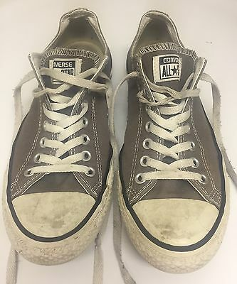 CONVERSE All Star Shoes GRAY Size Men's 9 Women's 11