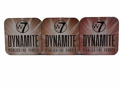 W7 Dynamite Highlighter Powder in Tin choose your shade