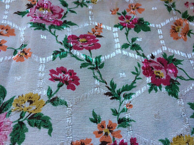 Vintage Floral Cushion Cover - Absolutely Gorgeous Fabric.