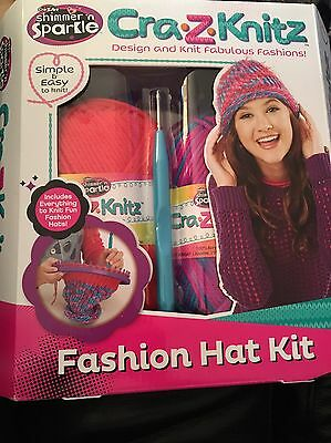 Fantastic Simple And Easy Cra.Z.Knitz Fashion Hat Kit