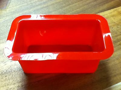 Red Silicone Mini Loaf Pan/tin Pack Of 12