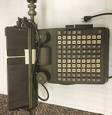 Burroughs Adding Machine Vintage Portable Accounting  NICE