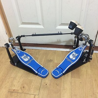 Fully Refurbished Big Dog Double Bass Kick Drum Pedal // Free Shipping